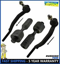 Set of 2 Upper and 2 Lower Tie Rod Ends 16mm Left & Right Side Chevy GMC Isuzu