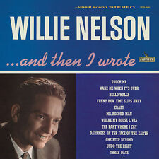"""Willie Nelson - """"And Then I Wrote""""  1962 Debut Colored Vinyl LP SEALED - Jackpot"""
