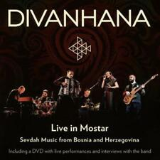 DIVANHANA - LIVE IN MOSTAR USED - VERY GOOD CD