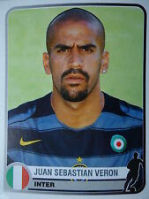 Panini 157 Juan Sebastian Veron Inter Mailand Champions of Europe 1955 - 2005