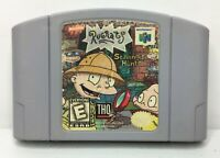 Nintendo 64 N64 Rugrats Scavenger Hunt Game Cart *Authentic/Cleaned/Tested*