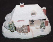 Vtg Royal Doulton Building Christmas Cottage lot d