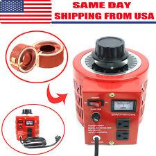 2000W 20Amp 0-130V Output Auto Variable Transformer AC Voltage Regulator
