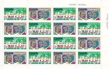 Canada Scotts #857-8 sheet of 16 MNH O' Canada
