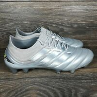 Adidas Copa 20.1 FG Firm Ground 'Metallic Silver' Soccer Cleats (EF8316) Men's 8