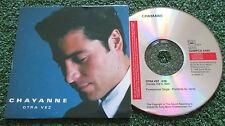 CHAYANNE **Otra Vez** RARE 1998 Spain PROMO CARDSLEEVE CD Single