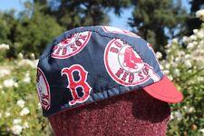 CYCLING CAP MLB BOSTON RED SOX     100% COTTON HANDMADE IN USA