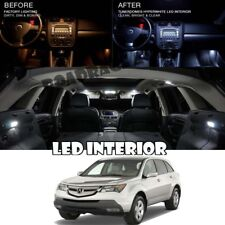 For 01-06 Acura MDX White LED Light Package Map Dome Trunk License Plate QTY 24