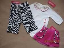 Gymboree Wild One Pink Black Zebra Skirt Pants Shirt Top One Piece 3-6  NWT New