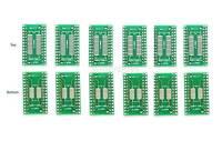 6pc SOP28 SO28 TSSOP28 SSOP28 Pinboard SMD to DIP28 Adapter Breakout Board PCB