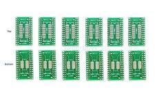 6pc TSSOP28 SSOP28 SOP SO Pin Board SMD to DIP28 Adapter Breakout Interposer PCB