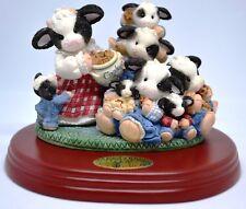 "Mary's Moo Moos Figurine"" We Love Our Grandmoo"" w/ Base Limited Edition~ ENESCO"