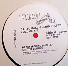 Radio Show: RCA SPECIAL RADIO SERIES: DARYL HALL AND JOHN OATES 1982