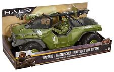 "Halo 12"" Warthog Vehicle and Master Chief Figure"