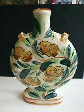 Vintage Japanese Moon Flask Vase Ceramic Decanter - Made In Japan