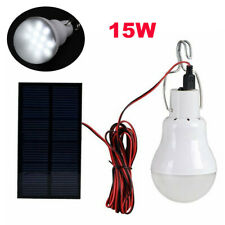 Portable Solar Powered 12 LED Rechargeable Bulb Light Outdoor Camping Yard