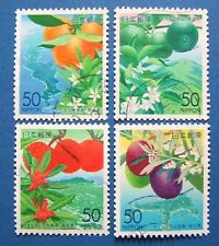 R532 Japan 2002 Shikoku four counties of fruits and flowers four counties 4 used