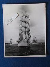 "Original Press Photo - 10"" x 8"" - Sailing Ship (Cutter?) - Early 1960's? - Lot A"