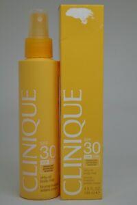 Clinique Virtu Oil Body Mist SPF 30 Sun Spray BNIB 4.9fl.oz./144ml
