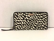 NWT KATE SPADE  NEDA LINDENWOOD SAFARI ZIP AROUND WALLET CLUTCH WLRU1239 $158