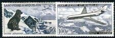 ST PIERRE et MIQUELON 1957 Yvert PA24-25 ** POSTFRISCH FLUGPOST (F4040