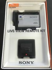 SONY Action Cam Digital 4K Video Camera Recorder FDR-X3000R Remote Control Kit
