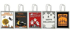 Happy Halloween Trick or Treat Bags Party Bags Loot Bags Halloween