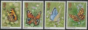 1981 Great Britain SC# 941-944 - Butterflies - M-NH -1