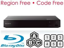 SONY BDP-S6700 Smart Multi Region 3D Blu-ray & DVD Player W/ WiFi & 4K Upscaling