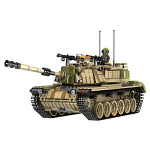 Panlos 632004 Israeli M60 Magach Main Battle Tank Building Block Set1753pcs