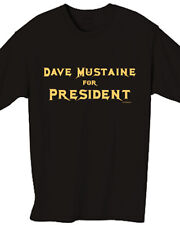 Dave Mustaine for President - Black Short Sleeve Shirt - Size Small Megadeth