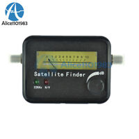 Digital Satellite Signal Dish FTA HD Monitors Signal Strength Meter Finder