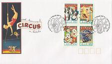 Australia 1997 Circus in Australia FDC (Launceston, TAS)