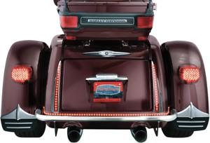 Kuryakyn 6976 Chrome Rear Red LED Light Bars 09-19 Harley Davidson Trike FLHXXX