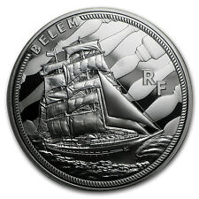 2016 Silver €10 Great French Ships Proof (The Belem) - SKU #97806