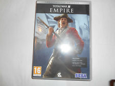 SEGA TOTAL WAR EMPIRE. INCLUDES EMPIRE TOTAL WAR THE WARPATH CAMPAIGN...
