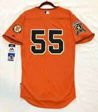 Majestic AUTHENTIC 40 MEDIUM SAN FRANCISCO GIANTS TIM LINCECUM COOL BASE JERSEY