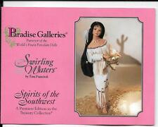 "18"" Paradise Galleries - ""Swirling Waters"" by Tom Francirek - Spirits of the SW"