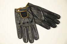 XL Genuine Leather Soft Driving Gloves chauffeur gloves