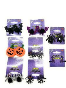 TRICK OR TREAT Drop Earrings Halloween Wicked Scary Funky Fancy Dress
