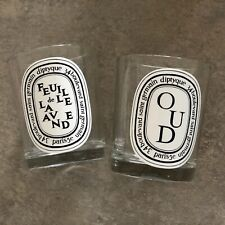 **FREE SHIPPING** Empty DIPTYQUE LOT 2x 190g Candles