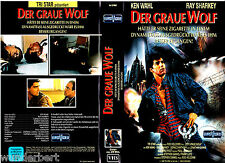 """VHS - """" Der Graue WOLF ( Wiseguy ) """" (1987) - Ken Wahl -- Euro Video"""