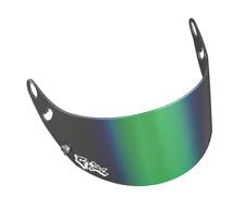 Arai Gaze Green Iridium Visor for Arai GP6 / SK6  Helmets - Brand New & Genuine