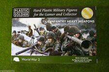 PLASTIC Soldier Company WW2 fine guerra degli Stati Uniti FANTERIA armi pesanti 15mm