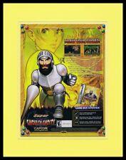 Super Ghouls N Ghosts 2002 Game Boy Framed 11x14 ORIGINAL Advertisement