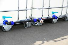 IBC Adaptador Set conexión para dos Tanques De Agua lluvia top- CALIDAD #2011