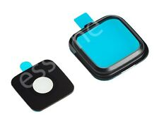 OEM Glass Camera Frame Holder Lens Cover For Samsung Galaxy Note 4 BLACK N910