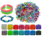 Loom Rubber Bands with 24 S-Clips (600 Count) - DIY Loom Rubber Bands