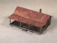 N Scale Share Croppers Weathered House
