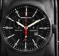 All Black Titanium Chrono md127 - Momodesign Pilot wrist watch
